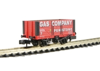 "8 plank wagon ""Gas Co. Penistone"""