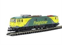 Class 86 electric Freightliner Power Haul with new style panto