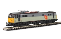 Class 86 Bo-Bo Electric 86415 Triple Grey 'Distribution Sector' with new style panto