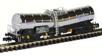 Silver Bullet China Clay bogie wagon in ex-works pristine silver 33 87 789 8 071-2. Ltd edition of 250