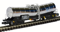 Silver Bullet China Clay bogie wagon in ex-works pristine silver 33 87 789 8 044-5. Ltd edition of 250