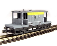 BR Brake Van in Civil Engineers livery