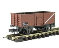 BR Butterley steel coal wagon in bauxite #B174727