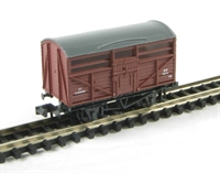 Cattle Wagon - British Railways livery. Version A
