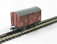 Cattle Wagon - British Railways livery. Version B
