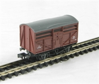 Cattle Wagon - British Railways livery. Version C