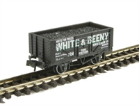 7-Plank coal wagon, White and Beeny No. 304