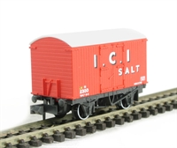 "Salt box van in ""I.C.I."" livery"