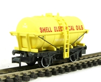 'Shell electrical oils' tank wagon in yellow