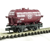 "Tank wagon for sulphuric acid ""Chemical & Metallurgical Corporation"" livery"
