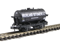 Short Wheelbase Tanker 'Highland Bitumens' No.1