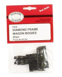 Diamond Frame Wagon Bogies