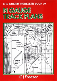 N gauge track plans (Railway Modeller book of)