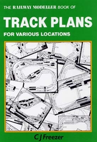 The Railway Modeller Book of Trackplans for various locations