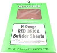 Red Brick Sheets (5 thick & 5 thin)
