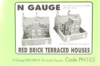 Red Brick Terraced Houses - Pre-owned - imperfect packaging