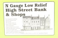 Low-relief High Street Bank & Shops - Pre-owned - Like new