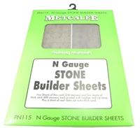 N Gauge Stone Sheets