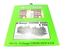 Corner Shops - Red Brick
