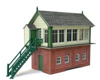 Signal box with lineside hut & fuel store shed (Card Kit)