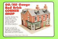 Red brick corner shop (Card Kit) - Pre-owned - Like new
