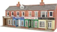 Terraced shop fronts - brick - 128 (w) x 73 (d) mm