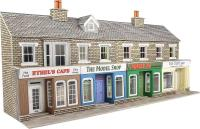 Terraced shop fronts - stone - 128 (w) x 73 (d) mm