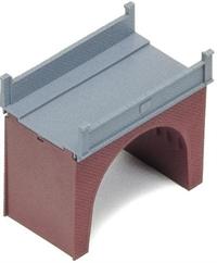 Single brick bridge