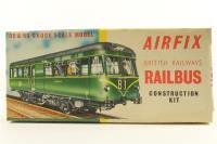Airfix 'OO' Gauge Kit Built Railbus - Pre-owned - imperfect box