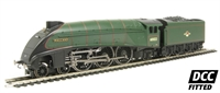 "Class A4 4-6-2 60022 ""Mallard"" in BR green with late crest - DCC Fitted (Railroad Range)"