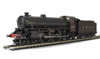 "Class B1 Thompson 4-6-0 1040 ""Roedeer"" in LNER black livery."