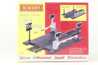 Single track level crossing - Pre-owned - Like new