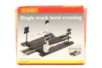 Single track level crossing - Pre-owned - poor box