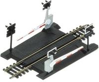 Single track level crossing