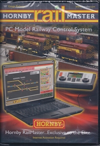 RailMaster PC Model Railway Control System on DVD