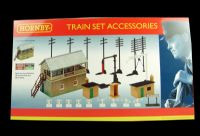 Signal box and a selection of trackside accessories