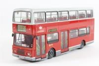 "Volvo Olympian d/deck bus ""London United"" - Pre-owned - Like new"