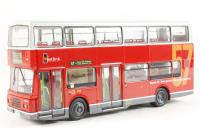 """Volvo Olympian/Alexander d/deck bus in red & white livery """"Westlink London(Route 57)"""" - Pre-owned - Like new"""