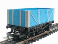 7 plank open wagon in light blue livery (Thomas the Tank range)