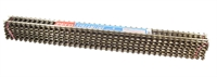 Box of 12 1 yard (91.4cm) length of Code 200 Wooden-sleeper nickel silver flexible track