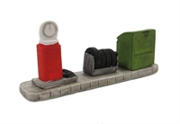 Garage Accessories - oil, tyres, 'Free Air'