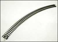 "N Setrack No3 radius double curve (8 form a circle). 298.5mm/11.75"" radius"