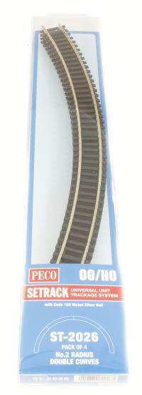 2nd radius Double Curve Track (ST-226 x 4)