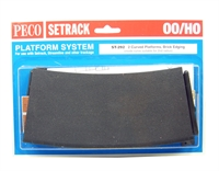 Setrack curved platform (Brick)