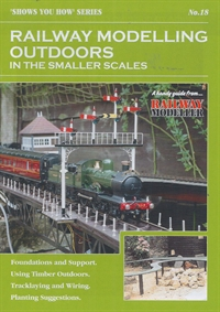 "Booklet - ""Shows You How"" Series - Railway Modelling Outdoors in the Smaller Scales"