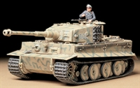 German Pz.Kpfw VI Tiger I Ausf E mid production with figure