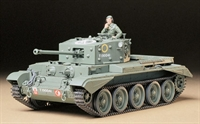 British Cromwell MkIV British cruiser tank MkVIII A27M with figure