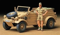 German Kubelwagen Type 82 Afrika-Corps with figure