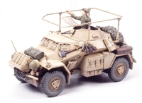 German Sd.Kfz 223 armoured car with figure & photo etched parts