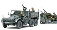 German Krupp Protze with 2 figures & lots of equipment & weapons